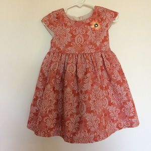 Pippa & Julie 24 mos Tonal Brocade Dress Bloomers